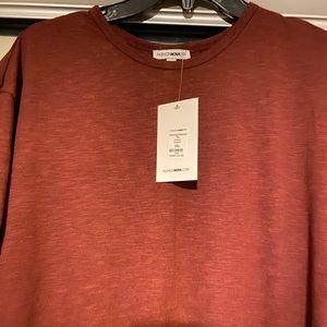 Men's Red Fashion Nova T-shirt